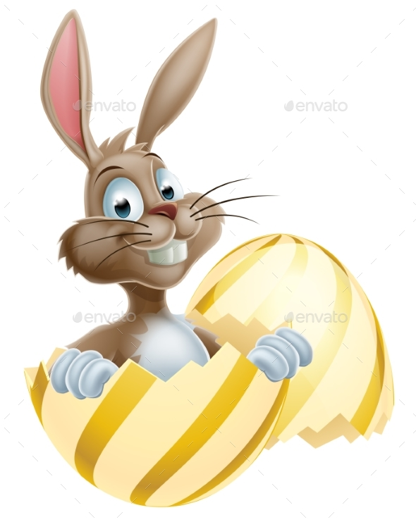 Easter Egg Bunny - Seasons/Holidays Conceptual