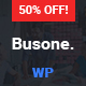 Busone - Agency and Business WordPress Theme - ThemeForest Item for Sale