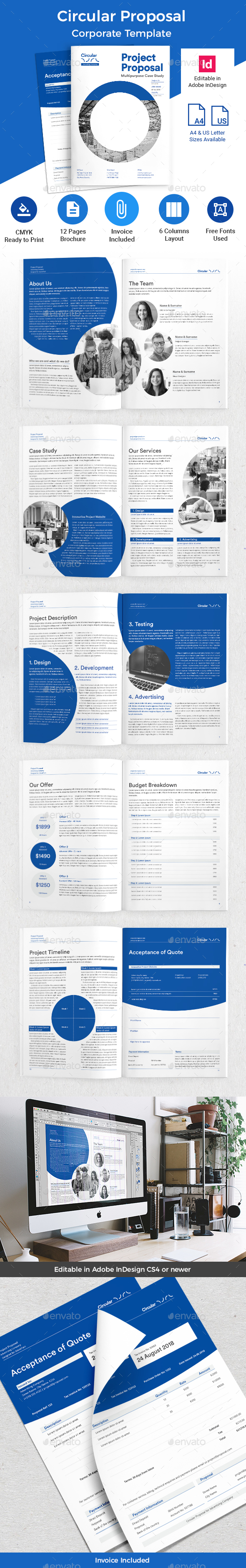 Circular Proposal - Corporate Brochures