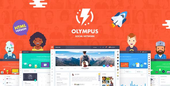 Olympus - HTML Social Network Toolkit