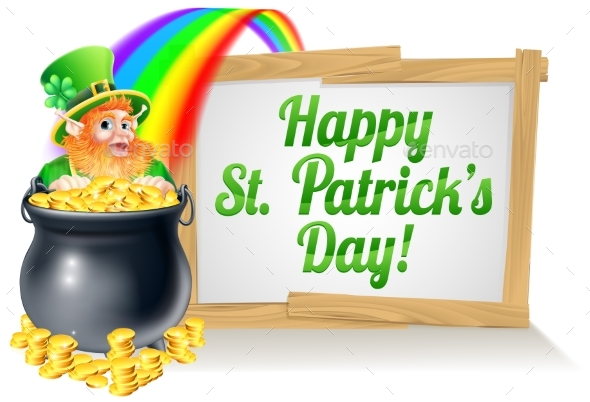 St Patricks Day Sign 2015 B1 - Miscellaneous Vectors
