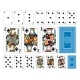 Bridge Size Club Playing Cards Plus Reverse