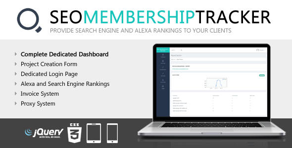 SEO Membership Tracker Wordpress Plugin - CodeCanyon Item for Sale