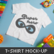 Kids T-shirt Mock-up