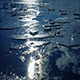 Moving Past Ice Sheets Floating On Water - VideoHive Item for Sale