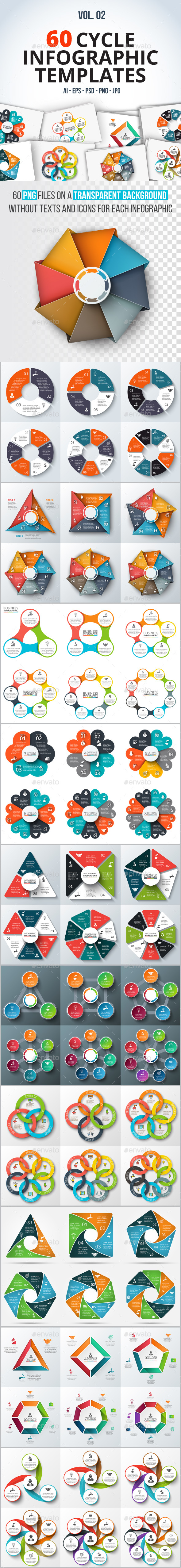 60 cycle infographics (part 2) - Infographics