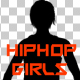 Hiphop Girl Silhouettes Pack - VideoHive Item for Sale