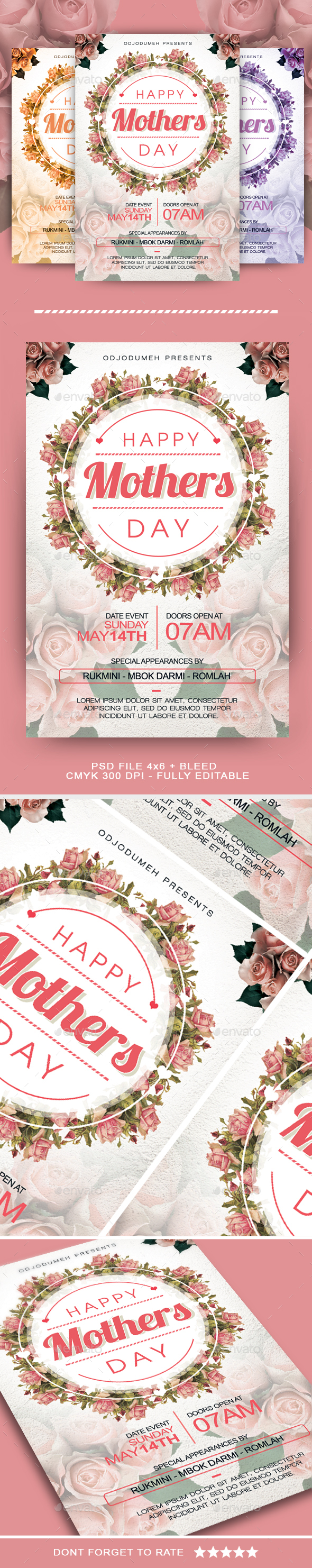 Mothers Day Flyer   Events Flyers