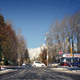 Cars Passing On Sunny Road In Winter - VideoHive Item for Sale