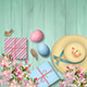 Easter Top View Background - GraphicRiver Item for Sale