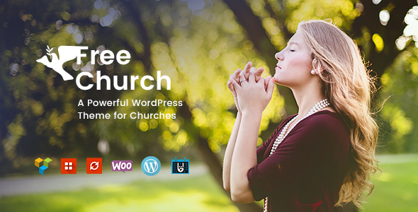 Free Church | Religion & Charity Theme