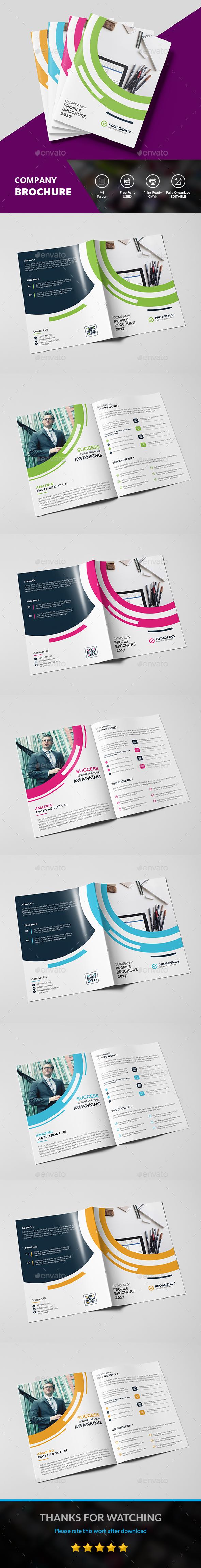 Corporate Bi-fold - Corporate Brochures