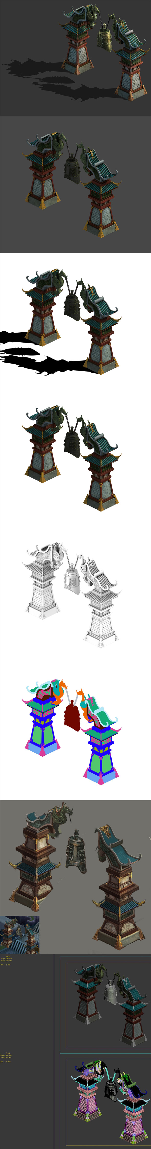 Main City - Steel Bell - 3DOcean Item for Sale