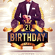Birthday Party Flyer Template 1 - GraphicRiver Item for Sale