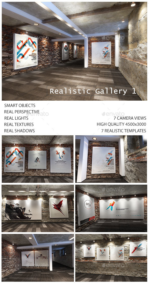 Realistic Gallery - Posters Print