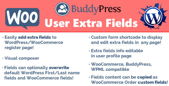 User Extra Fields - CodeCanyon Item for Sale