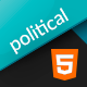 Html for Leader/Candidate/Campaign Politic - Bootstrap 4 | Political - ThemeForest Item for Sale
