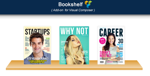 Visual Composer Add-on Bookshelf - CodeCanyon Item for Sale