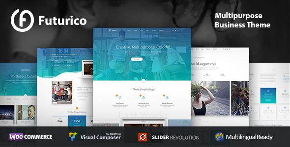 Futurico - Business WordPress Theme - Business Corporate