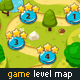 Game Level Map with 4 Different Worlds - GraphicRiver Item for Sale