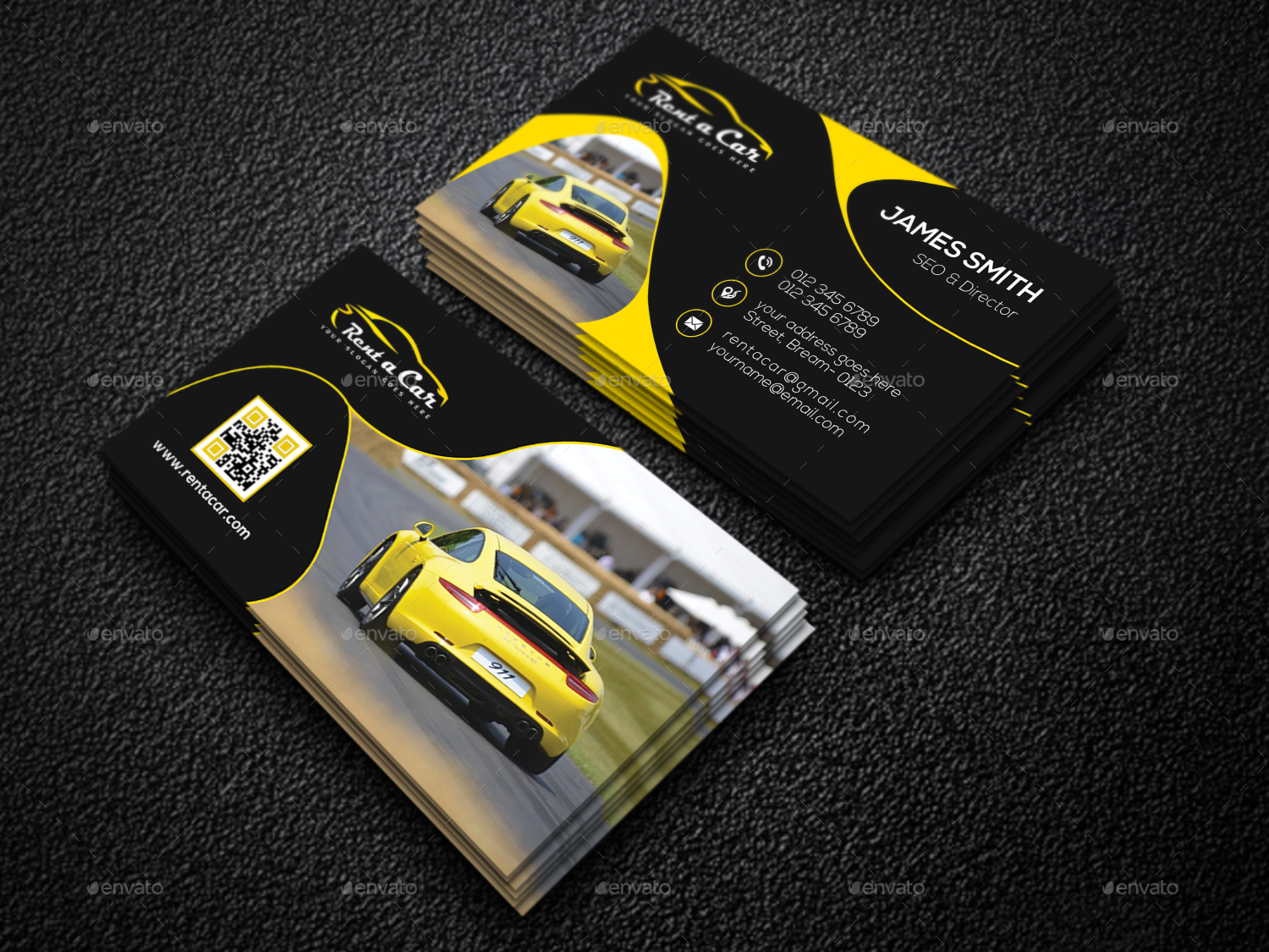 Business card design rent car best business cards rent a car business card by creative touch graphicriver magicingreecefo Gallery