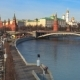 Russia. Moscow Kremlin on Sunset. . - VideoHive Item for Sale