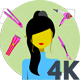 Woman Salon Concepts - VideoHive Item for Sale