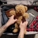 Packing Suitcase Before Adventure Travel