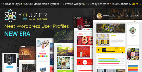 Youzer - New Wordpress User Profiles Era - CodeCanyon Item for Sale