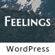 Feelings - Exquisite Personal WordPress Blog Theme Nulled