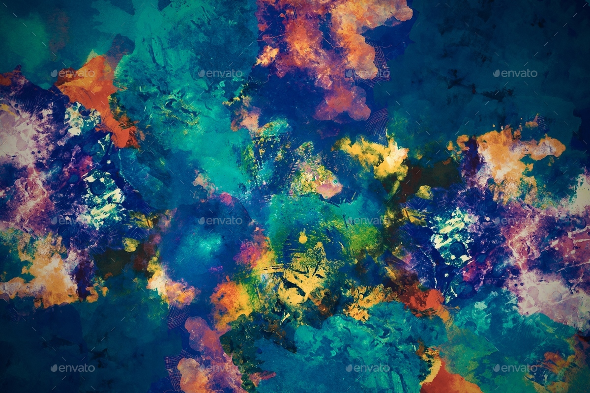 Watercolor Grunge Backgrounds