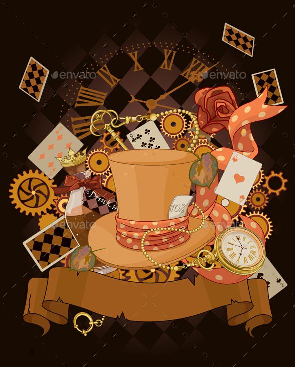 Wonderland Design - Backgrounds Decorative