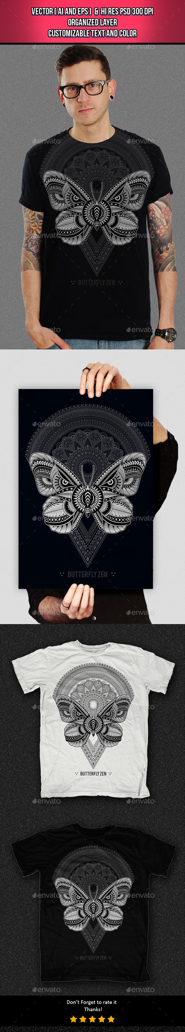 Butterfly Zen - Clean Designs