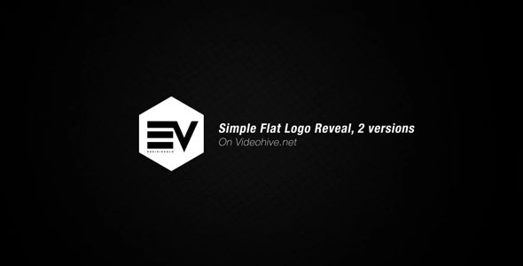 Simple Flat Logo Reveal