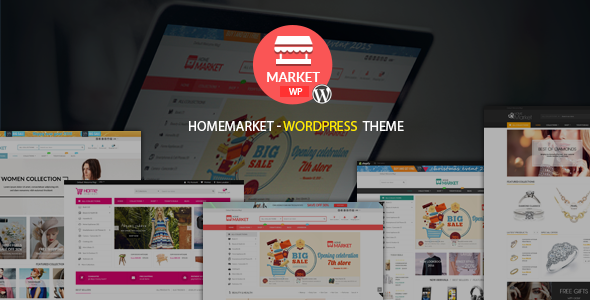 HomeMarket - Responsive WordPress eCommerce Theme