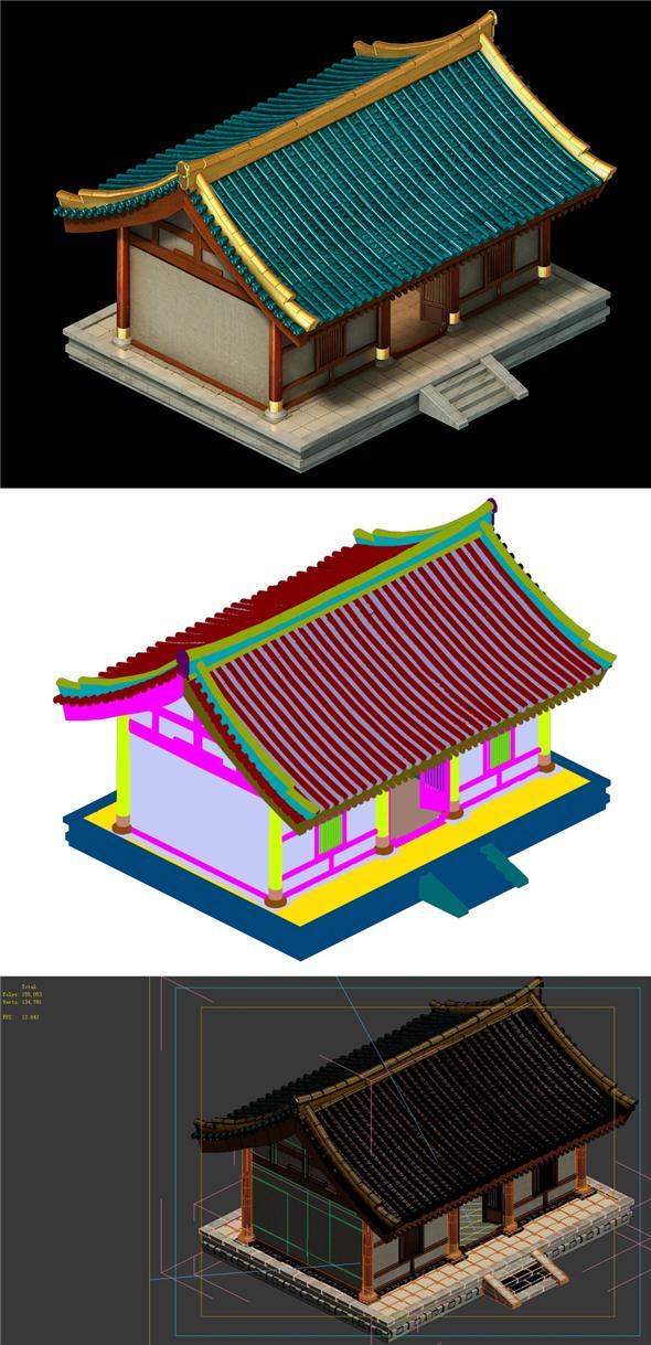 City Building - Housing 02 - 3DOcean Item for Sale