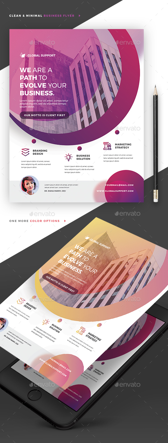 Creative Corporate Flyer - Corporate Flyers