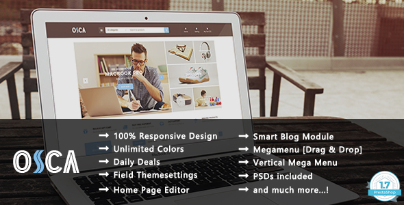 Osca – Shopping Responsive Prestashop 1.7 Theme