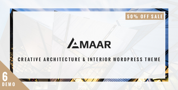 Amaar – Creative Architecture & Interior WordPress Theme