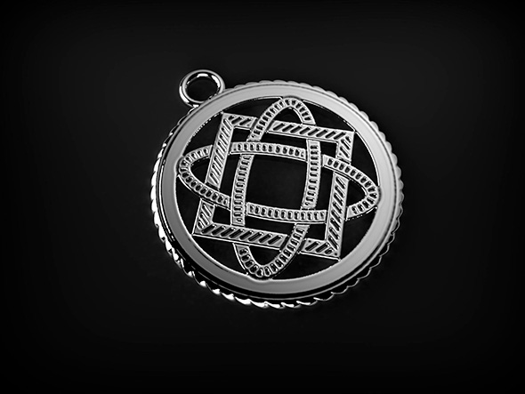 Pendant symbol - 3DOcean Item for Sale