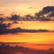 Orange cloudy sky - PhotoDune Item for Sale