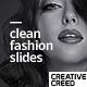 Clean Fashion Slides - VideoHive Item for Sale