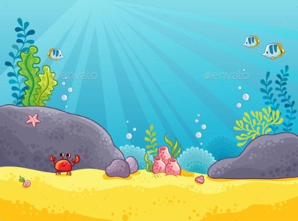 Marine Background - Landscapes Nature
