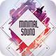 Minimal Sound Flyer - GraphicRiver Item for Sale