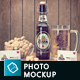 Craft Beer Package & Branding Mock-up - Retro Edition - GraphicRiver Item for Sale
