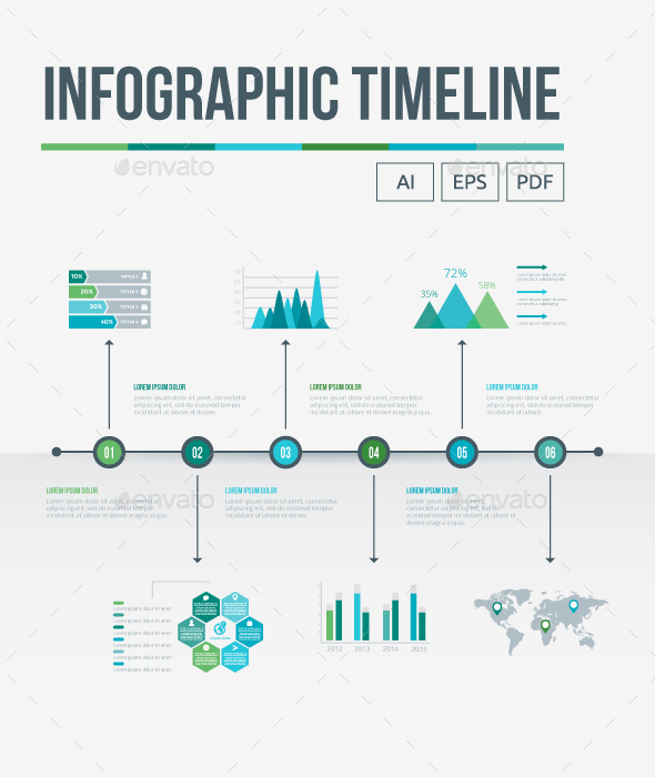 Infographic Timeline - Infographics