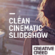 Clean Cinematic Slideshow - VideoHive Item for Sale