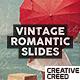 Vintage Romantic Slides - VideoHive Item for Sale