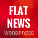 FlatNews – Responsive Magazine WordPress Theme Nulled