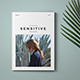 Sensitive Minimal Magazine - GraphicRiver Item for Sale